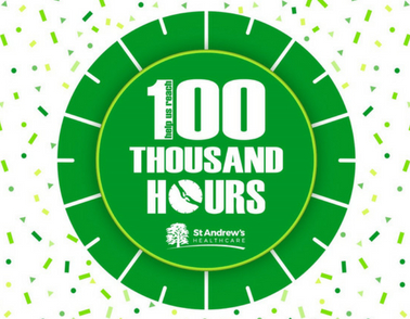 Can YOU help us achieve 100,000 hours of volunteering?