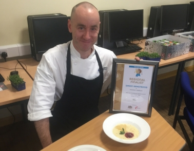 Chef duo reach regional final of national cooking competition
