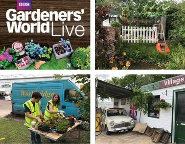 Workbridge team get ready for BBC Gardeners' World Live!