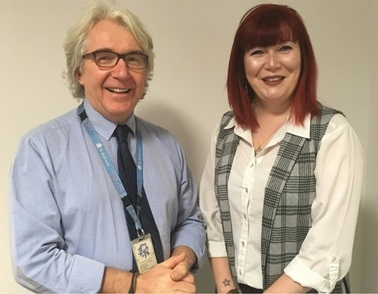 St Andrew's and University of Northampton jointly welcome new staff member