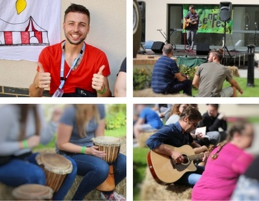 Young mental health patients enjoy live music and entertainment at GreenFest
