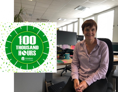 #100ThousandHours: Liz's volunteering story
