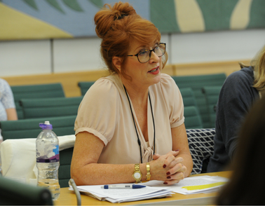 St Andrew's therapist Liz Ritchie advises Youth Select Committee in Parliament
