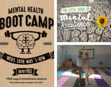 Over 150 people joined us on Wednesday for our Mental Health Bootcamp event