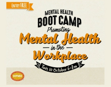 Learn how to improve your work / life balance: all welcome to Mental Health Bootcamp