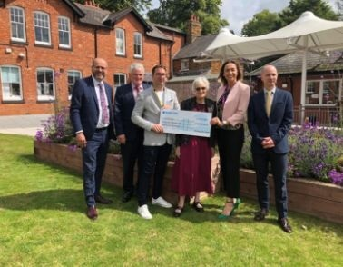 Local jewellers donate £24,000 to Workbridge
