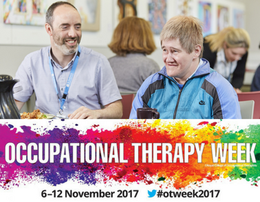 We're proud to support Occupational Therapy Week 2017!