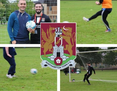 St Andrew's partners with Northampton Town Football Club to bring sport to patients