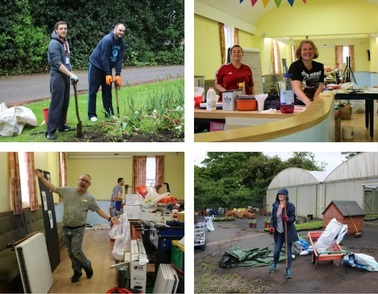 Staff from PwC make a difference by volunteering time and energy to work with mental health patients