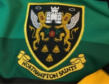 Northampton Saints put young patients through their paces at St Andrew's Healthcare