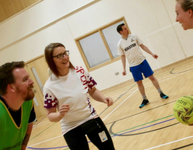 Staff and patients get active for Sport Relief