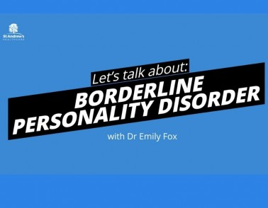 #LetsTalkAbout...  Borderline Personality Disorder.