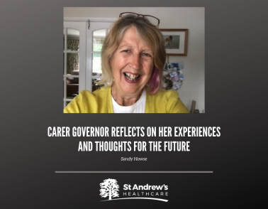 One of our Carer Governors reflects on her experiences and thoughts for the future