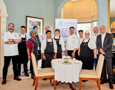 St Andrew's leads the way with new apprenticeship scheme for chefs