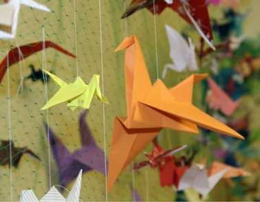 Can you help with our '1,000 Paper Crane Challenge'?